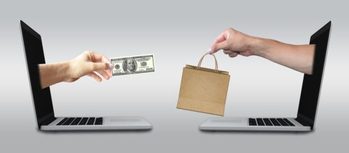 eCommerce paying for goods online
