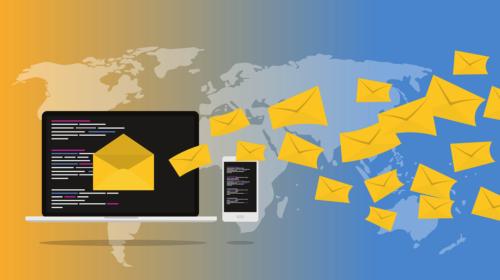 letters sent over Internet emails
